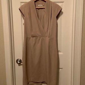 Calvin Klein Light Tan Dress